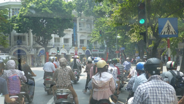 Travels - Traffic in Hanoi